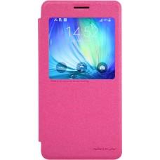 Чехол Nillkin Sparkle для Samsung Galaxy A7 (розовый)