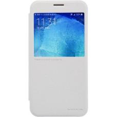 Чехол Nillkin Sparkle для Samsung Galaxy A8 (белый)