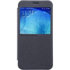 Чехол Nillkin Sparkle для Samsung Galaxy A8 (черный)