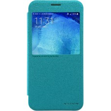 Чехол Nillkin Sparkle для Samsung Galaxy A8 (голубой)