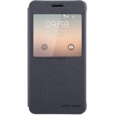 Чехол Nillkin Sparkle для Samsung Galaxy Alpha (черный)