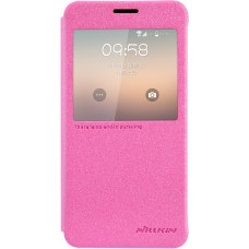 Чехол Nillkin Sparkle для Samsung Galaxy Alpha (розовый)