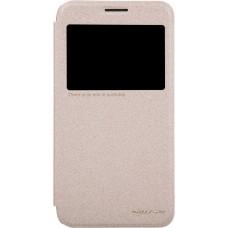 Чехол Nillkin Sparkle для Samsung Galaxy Grand Max (золотистый)