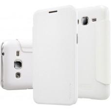Чехол Nillkin Sparkle для Samsung Galaxy J2 белый