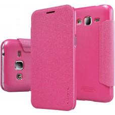 Чехол Nillkin Sparkle для Samsung Galaxy J2 розовый