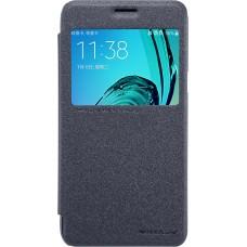 Чехол Nillkin Sparkle для Samsung Galaxy J3 (черный)