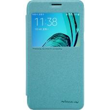 Чехол Nillkin Sparkle для Samsung Galaxy J3 (голубой)