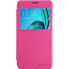 Чехол Nillkin Sparkle для Samsung Galaxy J3 (розовый)