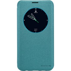 Чехол Nillkin Sparkle для Samsung Galaxy S6 Edge Plus (голубой)