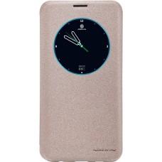 Чехол Nillkin Sparkle для Samsung Galaxy S6 Edge Plus (золотистый)
