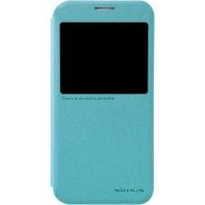 Чехол Nillkin Sparkle для Samsung Galaxy S6 (голубой)