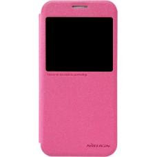 Чехол Nillkin Sparkle для Samsung Galaxy S6 (розовый)