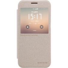 Чехол Nillkin Sparkle для Samsung Galaxy S7 (золотистый)