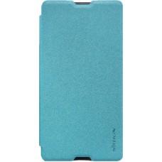 Чехол Nillkin Sparkle для Sony Xperia M5 голубой