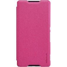 Чехол Nillkin Sparkle для Sony Xperia Z4 (розовый)