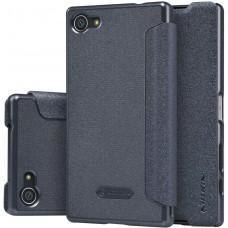 Чехол Nillkin Sparkle для Sony Xperia Z5 Compact черный