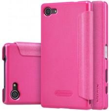 Чехол Nillkin Sparkle для Sony Xperia Z5 Compact розовый