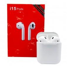 Беспроводные наушники i15 Pods Bluetooth