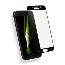 Защитное стекло 3d на весь экран для Samsung Galaxy A3 (2017) A320F, черное