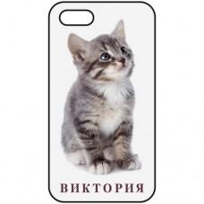 Шаблон № 1004 Картинка котенок + Ваше Имя (шрифт DFMINCHO-SU)