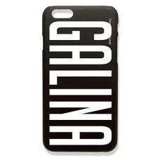 Шаблон № 1021 GALINA (шрифт BigNoodleTitling) цвет белый