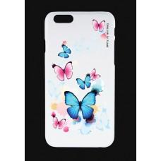 Шаблон №2005 Бабочки голубые и розовые