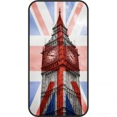 Шаблон №2078 Биг Бэн на британском флаге