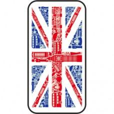 Шаблон №2083 Британский флаг стиль-конструкстор