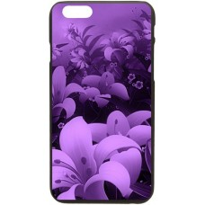 Шаблон №2145 Фиолетовые цветы