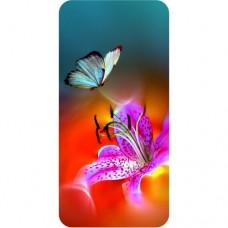 шаблон №2146 Бабочка и орхидея