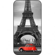 Шаблон №2202 Эйфелева башня (Черно белый с краным)