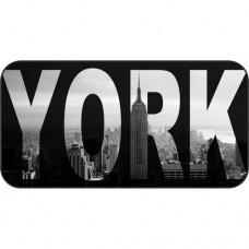 Шаблон №2205 New York (Надпись на фоне города)