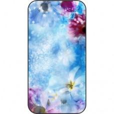 Шаблон №2269 Синие и фиолетовые цветы