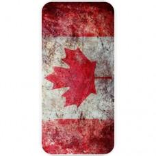 Шаблон №2306 Канадский Флаг (Потертая Краска)
