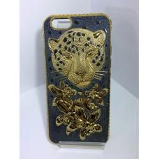 Чехол Тигр золото для iPhone 6, 6S