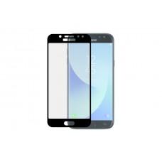 Защитное стекло 5d полной проклейки Full glue для Samsung Galaxy J5 (2017) J530, черное