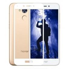 Защитное стекло 3D на весь экран для Huawei Honor 6A, белое