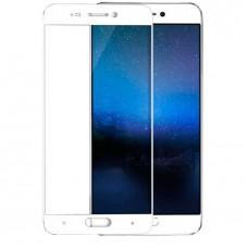 Защитное стекло 3D на весь экран для Xiaomi Mi 5c, белое