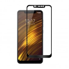 Защитное стекло 3d на весь экран для Xiaomi Pocophone F1 черное