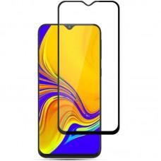 Защитное стекло 5d полной проклейки Full glue для Samsung Galaxy M10 черное