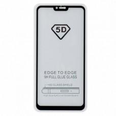 Защитное стекло 5d полной проклейки Full glue для Xiaomi Mi 8 lite черное