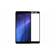 Защитное стекло 5d полной проклейки Full glue для Xiaomi Redmi Note 5 Pro / Note 5 черное