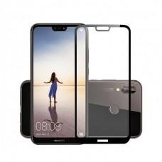 Защитное стекло 5d полной проклейки Full glue для Huawei P20 Lite (ANE-LX1) черное