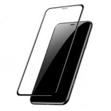 Защитное стекло Full Screen 5D для Apple iPhone Xr, черное