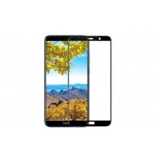 Защитное стекло 5d полной проклейки Full glue для Huawei Y6 Prime (2018) / Honor 7A Pro / Honor 7C , черное
