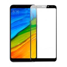 Защитное стекло 5d полной проклейки Full glue для Xiaomi Redmi 5A черное