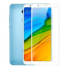 Защитное стекло 5d полной проклейки Full glue для Xiaomi Redmi 5A белое