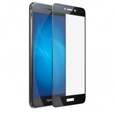Защитное стекло 5d полной проклейки Full glue для Huawei P8 Lite 2017 черное