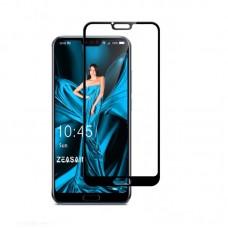 Защитное стекло 5d полной проклейки Full glue для Huawei Honor 10 черное