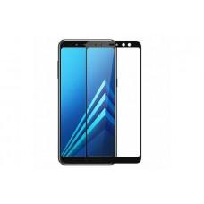 Защитное стекло 5d полной проклейки Full glue для Samsung Galaxy A6s черное